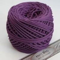 Шнур полиэфирный с сердечником 5 мм для рукоделия Книткорд (2012 фиолетовый)