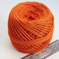 Шнур полиэфирный с сердечником 5 мм для рукоделия Книткорд (2011 оранжевый)