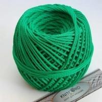 Шнур полиэфирный с сердечником 5 мм для рукоделия Книткорд (2020 зеленый)