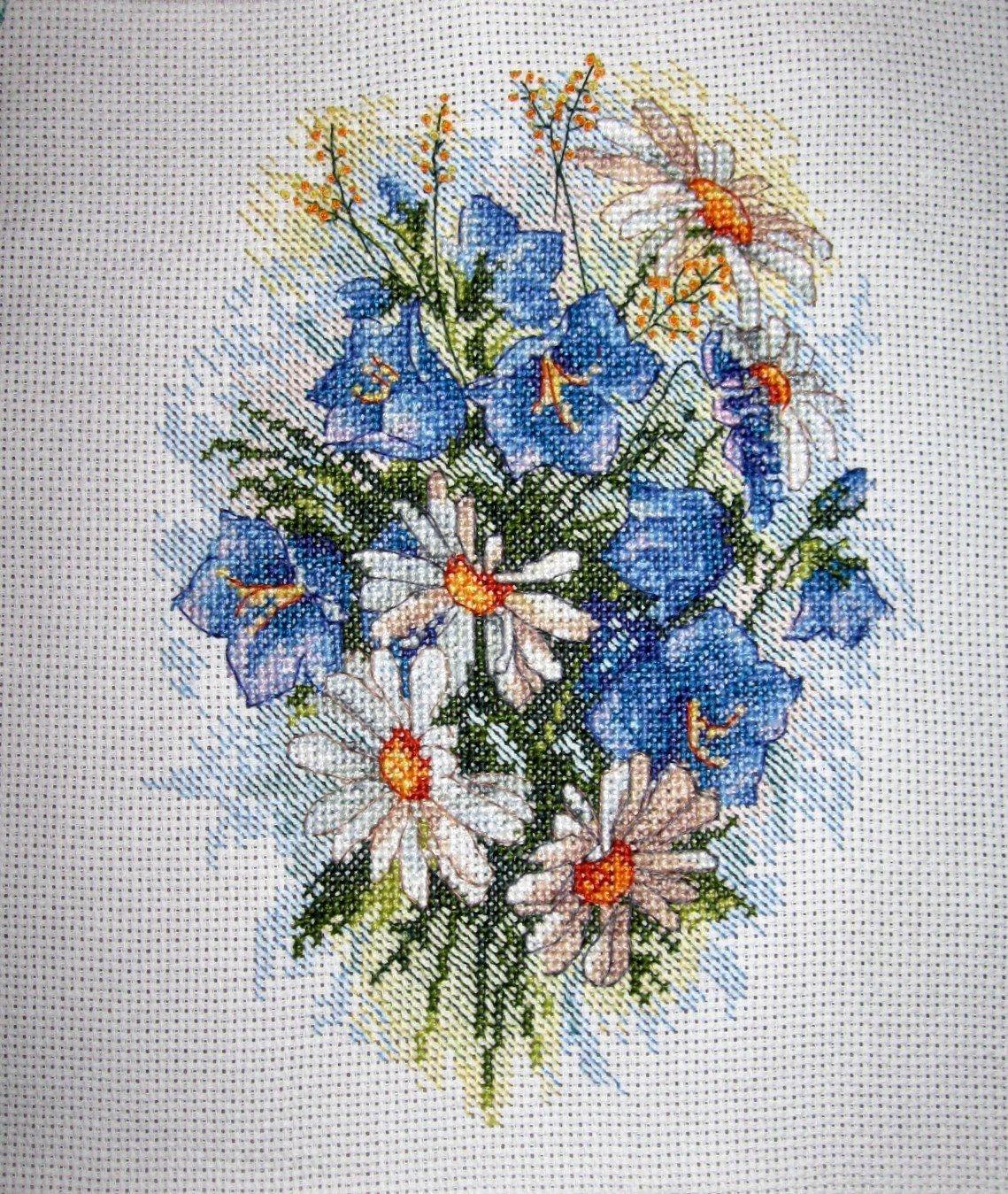 Набор для вышивания М-120 Луговые цветы Жар-птица