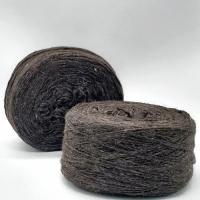 Пряжа Таблетка Овечья шерсть (коричневый)