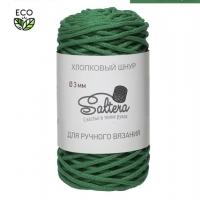 Шнур хлопковый Сальтера (зеленый)