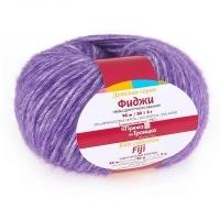 Пряжа Троицкая Фиджи (8353 меланж фиолетовый)