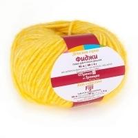 Пряжа Троицкая Фиджи (8361 меланж желтый)