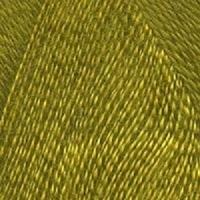 Пряжа Троицкая Шелковый блеск (Пряжа Троицкая Шелковый блеск, цвет 1268 горчица)