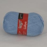Пряжа Семеновская Лидия (Пряжа Лидия Семеновская, цвет 0003 голубой)