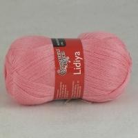 Пряжа Семеновская Лидия (Пряжа Лидия Семеновская, цвет 0020 розовый)