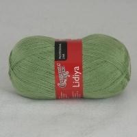 Пряжа Семеновская Лидия (Пряжа Лидия Семеновская, цвет 0122 зел.яблоко)