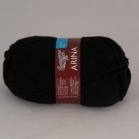 Пряжа Семеновская Арина (0001 чёрный)