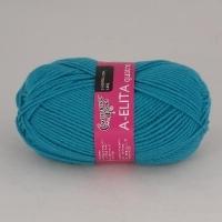 Пряжа Семеновская Аэлита кватро (290 бирюзово-голубой)