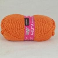 Пряжа Семеновская Аэлита кватро (670 морковный)
