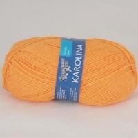 Пряжа Семеновская Каролина (0655 ярко-оранжевый)