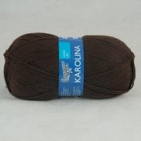 Пряжа Семеновская Каролина (4443 т. шоколад)