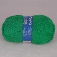Пряжа Семеновская Каролина (0047 ярко-зеленый)