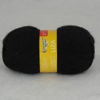 Пряжа Семеновская Лиза (1 чёрный)