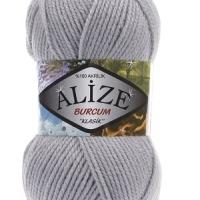 Пряжа Ализе Буркум (253 серый)