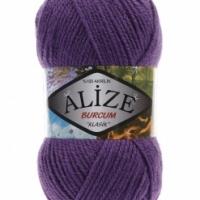 Пряжа Ализе Буркум (44 пурпурный)