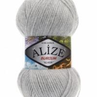 Пряжа Ализе Буркум (208 св. серый меланж)
