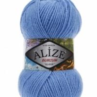 Пряжа Ализе Буркум (289 синий)