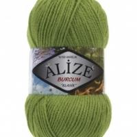 Пряжа Ализе Буркум (210 зелёный)