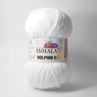 Пряжа Himalaya Dolphin Baby (80301 супер белый)