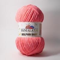 Пряжа Himalaya Dolphin Baby (80324 яр.розовый)
