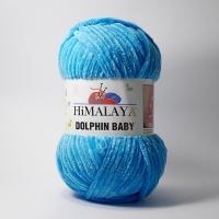 Пряжа Himalaya Dolphin Baby (80326 голубой)