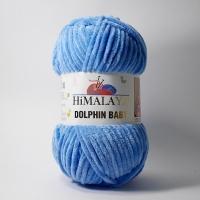 Пряжа Himalaya Dolphin Baby (80327 голубой)