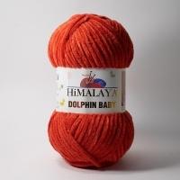 Пряжа Himalaya Dolphin Baby (80352 красно-бордовый)