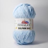 Пряжа Himalaya Dolphin Baby (80306 голубой)