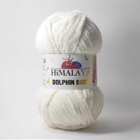 Пряжа Himalaya Dolphin Baby (80308 белый)
