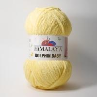 Пряжа Himalaya Dolphin Baby (80313 св.желтый)