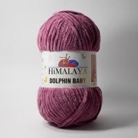 Пряжа Himalaya Dolphin Baby (80338 сух.роза)