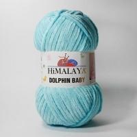 Пряжа Himalaya Dolphin Baby (80335 бирюзовый)