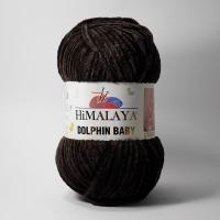 Пряжа Himalaya Dolphin Baby (80343 т.коричневый)