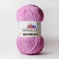 Пряжа Himalaya Dolphin Baby (80356 лиловый)