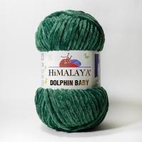 Пряжа Himalaya Dolphin Baby (80360 зелёный)