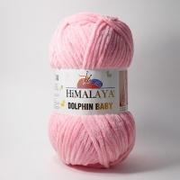 Пряжа Himalaya Dolphin Baby (80309 розовый)