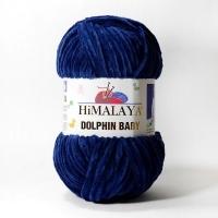 Пряжа Himalaya Dolphin Baby (80321 синий)