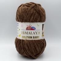 Пряжа Himalaya Dolphin Baby (80366 коричневый)