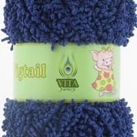 Пряжа Vita fancy Pigtail (5405 синий)