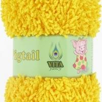 Пряжа Vita fancy Pigtail (5413 жёлтый)
