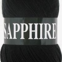 Пряжа Vita Sapphire (1502 черный)