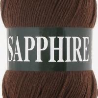 Пряжа Vita Sapphire (1504 коричневый)