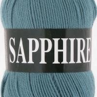 Пряжа Vita Sapphire (1508 дымчато-зеленый)