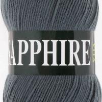 Пряжа Vita Sapphire (1516 темно-серый)