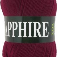 Пряжа Vita Sapphire (1519 бордовый)