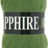 Пряжа Vita Sapphire (1520 зеленый)