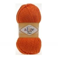 Пряжа Ализе Коттон Голд Плюс (Пряжа Ализе Коттон Голд Плюс, цвет 487 оранжевый)