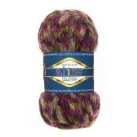 Пряжа Ализе Кантри Нью (5656 фиолетово-серо-синий)